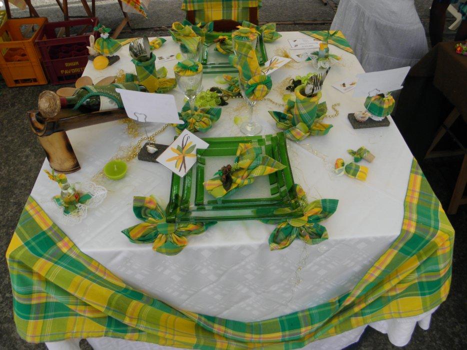 Le madras dans l 39 art de la table prest art d co sonya972 for L art de table