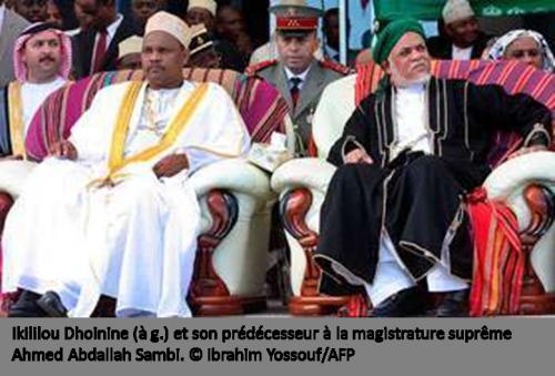 Aux Comores, Ikililou Dhoinine s'affranchit du sambisme