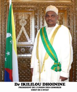 COMORES : Vœux du Chef de l'Etat a la Nation à l'occasion du nouvel an 2013