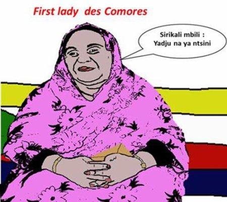 """Son """" excellence """" la première dame des Comores"""