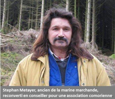 Stephan Metayer veut « éclairer » les Comores