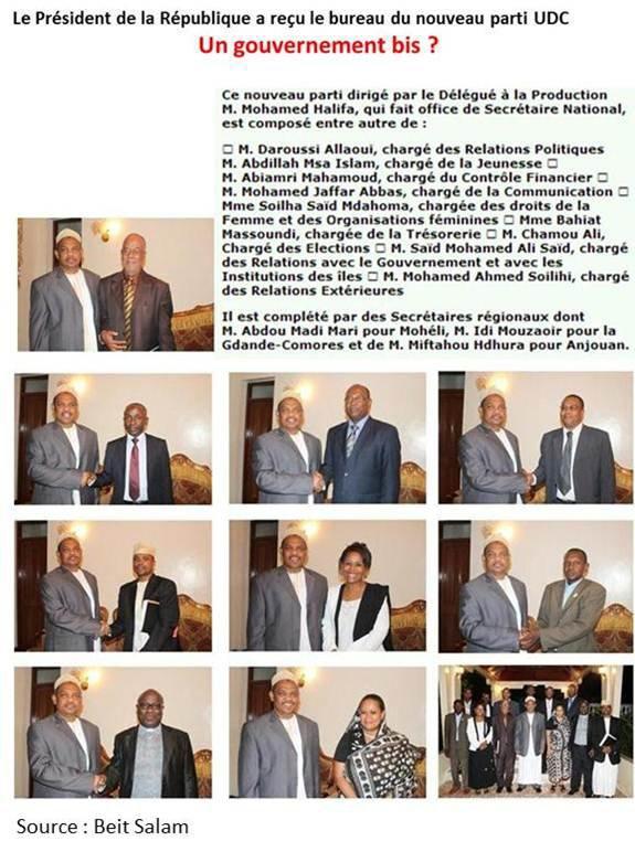 Comores : Un gouvernement bis? That is the question
