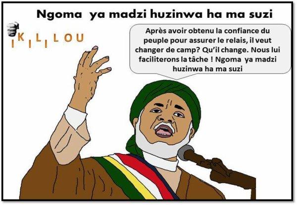 """Comores : Sambi met les """"poings"""" sur les i d'IKILILOU"""