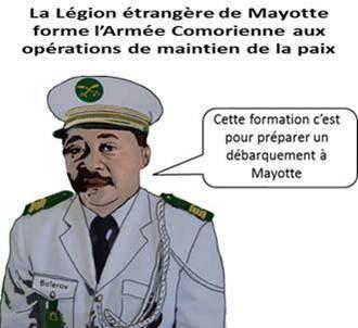 La Légion étrangère de Mayotte forme l'Armée Comorienne aux opérations de maintien de la paix