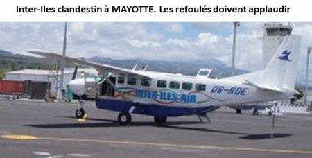 COMORES : Inter-Iles refoulé de Mayotte, sans les refoulés